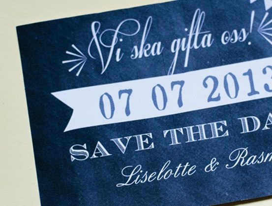 Så funkar save the date-kort